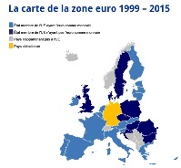 Carte de la zone euro small